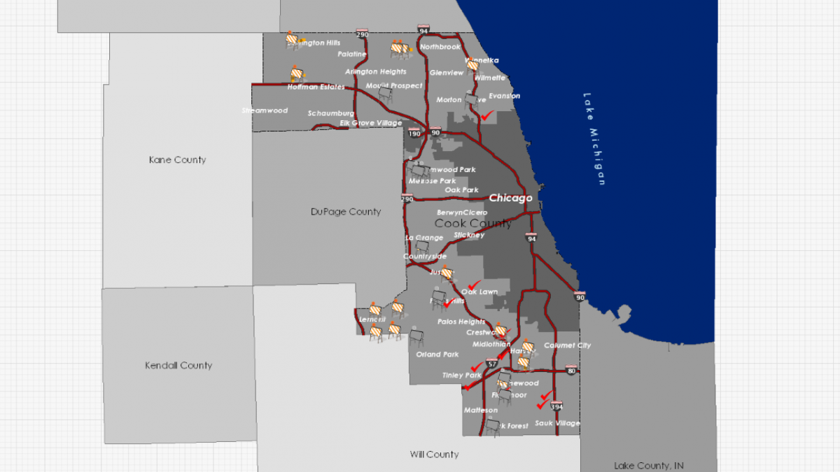 Construction Projects Map