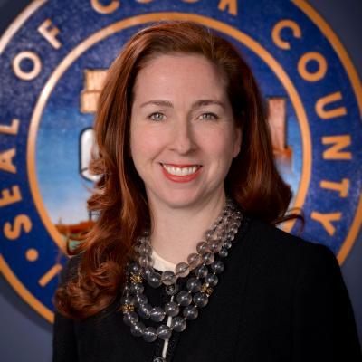 County Commissioner Bridget Gainer, 10th District