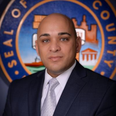 County Commissioner Luis Arroyo Jr., 8th District