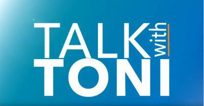 logo for Talk with Toni program
